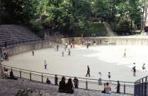 The Roman Arena in Paris