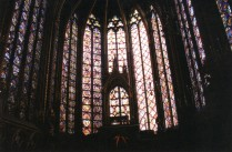 Windows at Sainte Chapelle