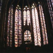 Windows at Sainte Chapelle