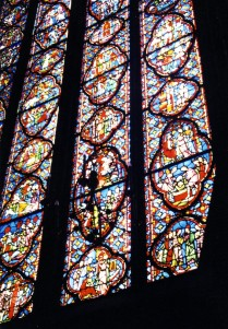 A window at Sainte Chapelle