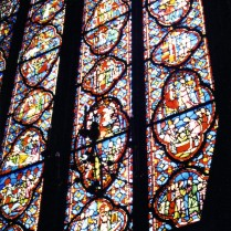 A window at Sainte Chapelle