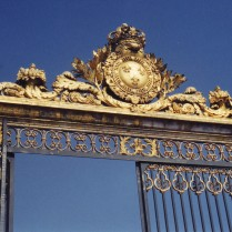 The gate at Versailles