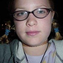 Megan's selfie during our evening bike tour.