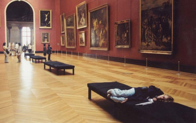 Looking at Art Can Be Really Exhausting!