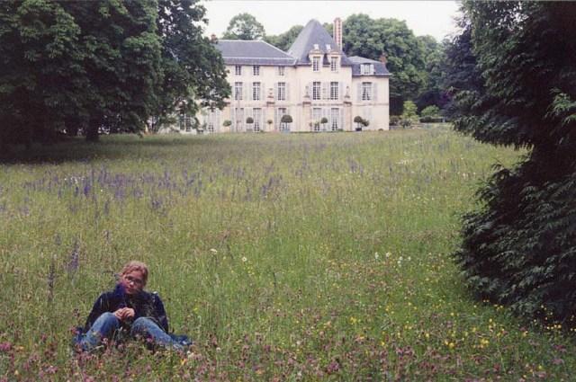 Megan at Château Malmaison