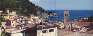 The View from the Top of Our Monterosso Hotel