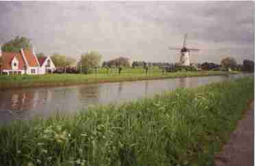 A canal near Bruges